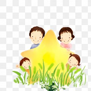 Family - Family Cartoon Illustration PNG