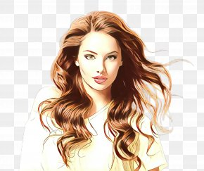 Beauty Long Hair - Hair Face Hairstyle Blond Hair Coloring PNG