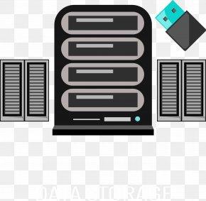 Vector Hand-painted Server - Database Server Database Server MySQL Computer File PNG