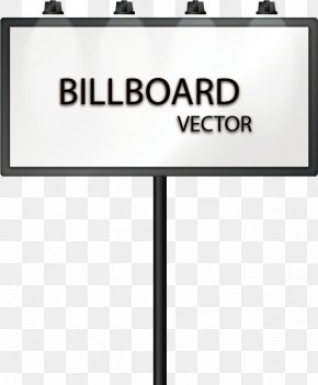 Vector Hand-painted Billboards - Euclidean Vector Line Angle Billboard PNG