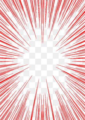 Line Explosion - Red Explosion PNG