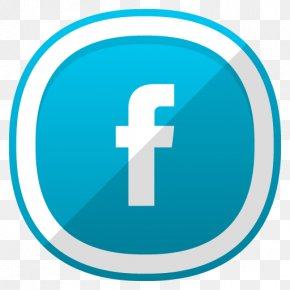 Facebook Icon - Social Media Facebook Icon Design PNG