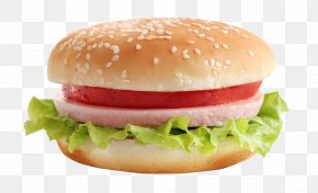 Burger - Hamburger Veggie Burger Cheeseburger Fast Food PNG