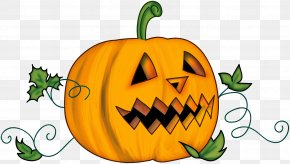 Happy Pumpkin Cliparts - Jack-o-lantern Pumpkin Halloween Carving Clip Art PNG