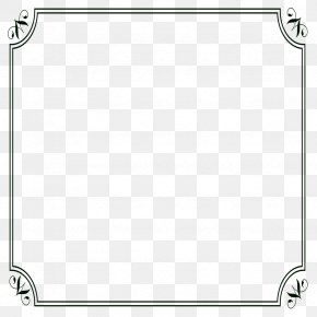 Black Border Frame Picture - Picture Frame Template PNG