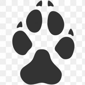 Dog Foot Prints Logo - Dog Footprint Paw Clip Art PNG