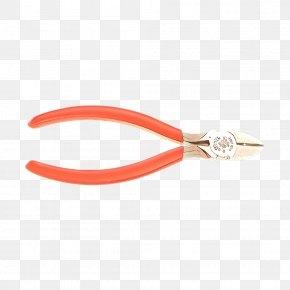 Wire Stripper Orange - Orange Background PNG