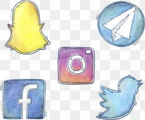 Vector Social Icons - Social Network Euclidean Vector Computer Network Icon PNG