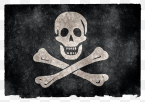 Jolly Roger Grunge Flag - Assassins Creed IV: Black Flag Jolly Roger Piracy Pirate Coins PNG