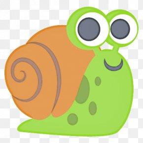 Glasses Sea Snail - Snail Cartoon PNG