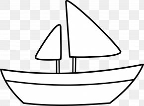 Sailboat Graphic - Boating Clip Art PNG