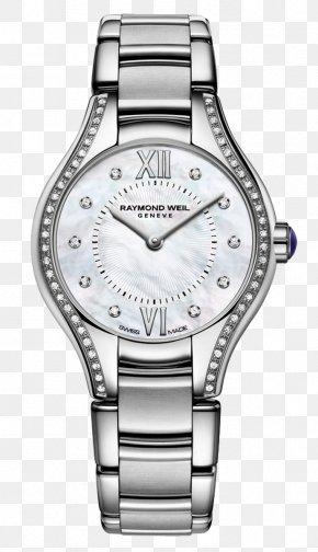 Watch - Raymond Weil Watchmaker Swiss Made Jewellery PNG