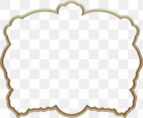 Golden Frames - Mother Goose Fairy Tale Child Gold PNG
