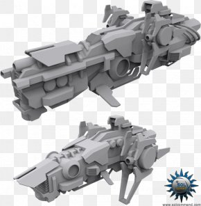 Drone Shipper - Spacecraft Mother Ship Titus Art PNG