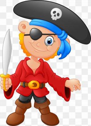Cartoon Pirates - Piracy Clip Art PNG