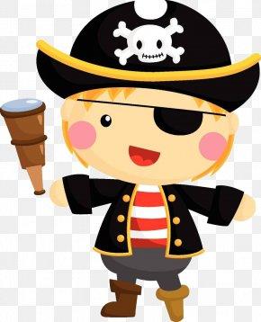 Cartoon Pirate Material - Piracy Cartoon Illustration PNG