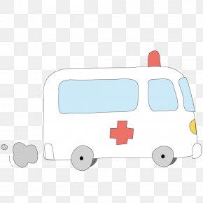 Vector Ambulance To Hospital - Hospital Ambulance PNG