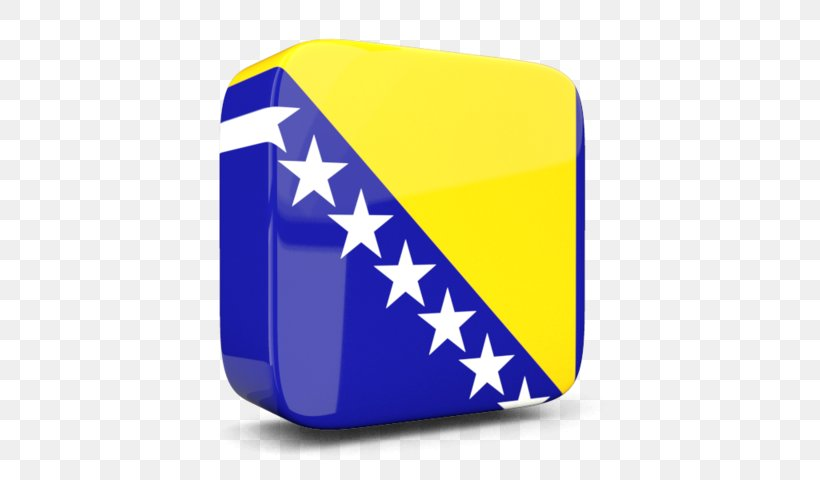 Flag Of Bosnia And Herzegovina Flags Of The World National Flag, PNG, 640x480px, 3d Computer Graphics, Bosnia And Herzegovina, Blue, Brand, Cobalt Blue Download Free