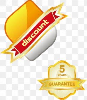Discount Label Badge Warranty - Shopping Centre Discounts And Allowances Sales Euclidean Vector Limescale PNG