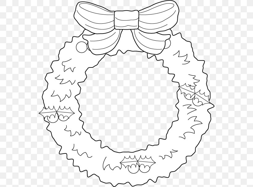 Christmas Wreath Garland Clip Art, PNG