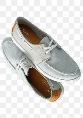 Grey Shoes - Slip-on Shoe Toms Shoes Boat Shoe Clothing PNG