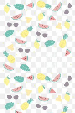 Watermelon, Pineapple Leaves - IPhone 5 Paper Computer Monitor Theme Wallpaper PNG
