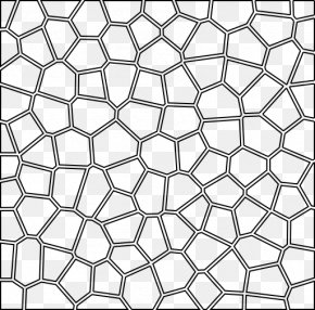 Pattern Cliparts - Voronoi Diagram Geometry Two-dimensional Space Point Pattern PNG