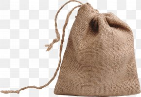 Bag - Coffee Bag Gunny Sack Clip Art PNG