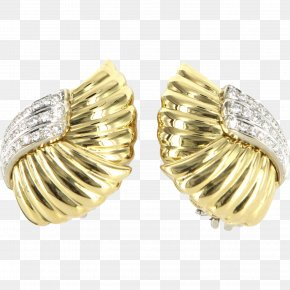 Ring - Earring Jewellery Colored Gold Carat PNG