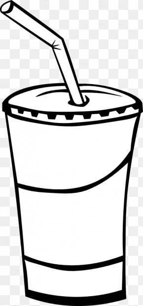 Drinking Straw Cliparts - Soft Drink Coca-Cola Carbonated Water Italian Soda PNG