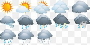 Weather Confront Table - Weather Forecasting Icon PNG
