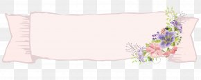 Art Flowers Border - Paper Text Picture Frame White Pattern PNG