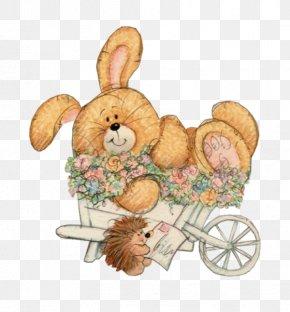 Rabbit - Rabbit Easter Bunny Clip Art Christmas Openclipart PNG