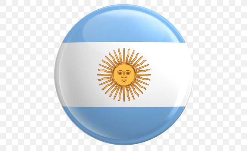 Flag Of Argentina National Flag Sun Of May Png 500x500px