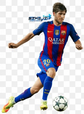 Fc Barcelona - Sergi Roberto FC Barcelona Soccer Player UEFA Champions League Spain National Football Team PNG