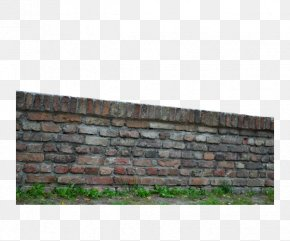Red Brick Wall - Stone Wall Brick Wall Decal PNG
