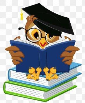 Owl - Student School Clip Art PNG