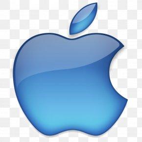 Apple Logo - Apple Logo Blue PNG