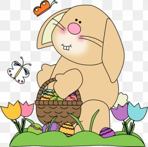 Easter Rabbit Cliparts - Easter Bunny Rabbit Spring Clip Art PNG