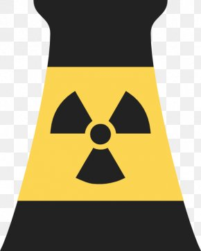 Nuclear Power Symbol - Nuclear Power Plant Power Station Nuclear Reactor Clip Art PNG