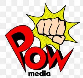 Pow - Logo Graphic Design Clip Art PNG