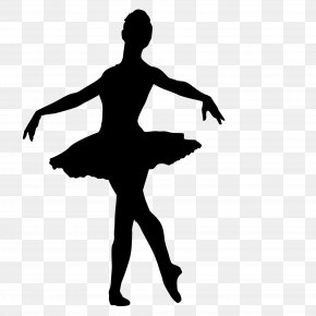 Ballet Woman Shadow - Ballet Dancer PNG