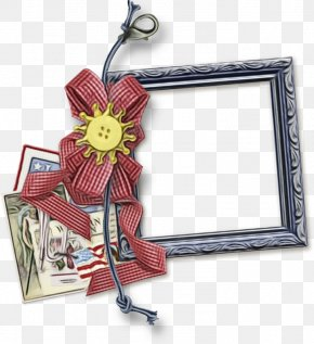 Paper Picture Frame - Watercolor Floral Frame PNG