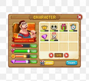 Game Ui - Game Graphical User Interface King Of Thieves User Interface Design PNG