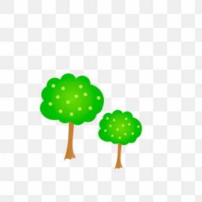 Cartoon Trees PNG