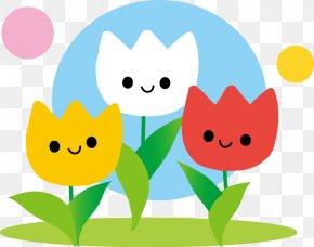 Spring Illustration Tulip Image Season PNG