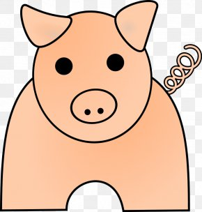 Cartoon Guinea Pig Pictures - Domestic Pig Free Content Clip Art PNG