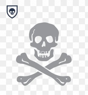 Pirate - Jolly Roger Pirate The Last Filibusters Skull And Crossbones Stencil PNG