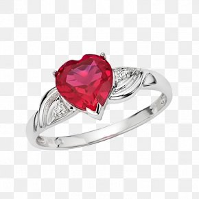 Ring - Ring Heart Jewellery Cubic Zirconia PNG