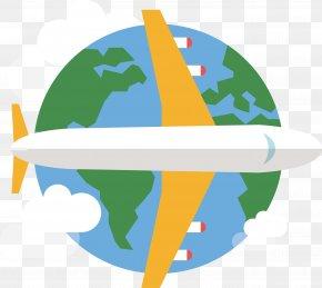 Global Flight - Flight Airplane Air Travel Clip Art PNG